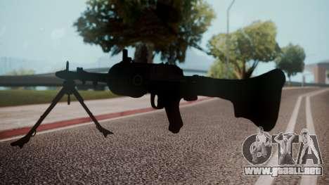 MG-34 Red Orchestra 2 Heroes of Stalingrad para GTA San Andreas tercera pantalla