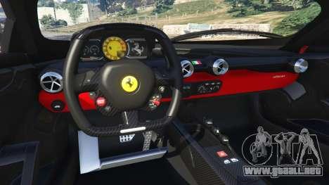 GTA 5 Ferrari FXX-K 2015 volante