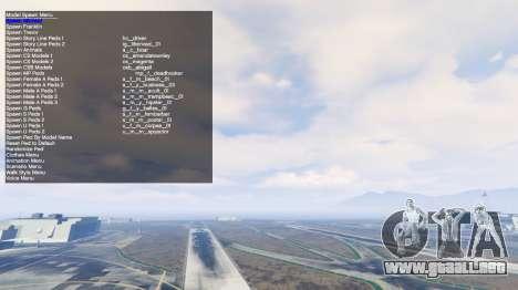 GTA 5 Simple Trainer v2.4 sexta captura de pantalla