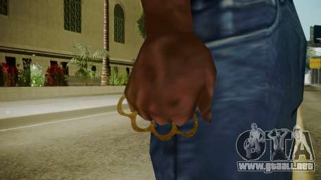 Atmosphere Brass Knuckles v4.3 para GTA San Andreas tercera pantalla
