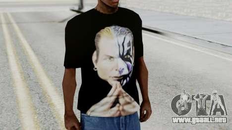 Jeff Hardy Shirt v3 para GTA San Andreas segunda pantalla