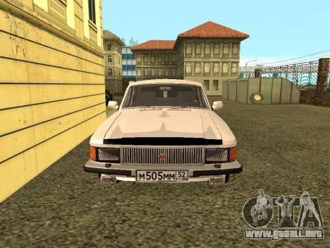 GAS 3102 Volga para la visión correcta GTA San Andreas