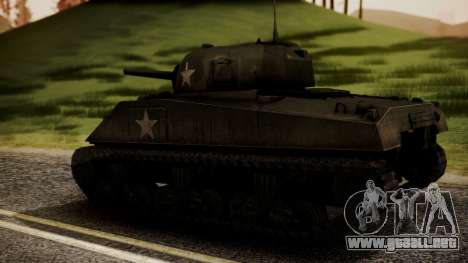 M4A3 Sherman para GTA San Andreas left
