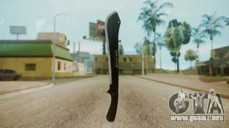 GTA 5 Machete (From Lowider DLC) para GTA San Andreas