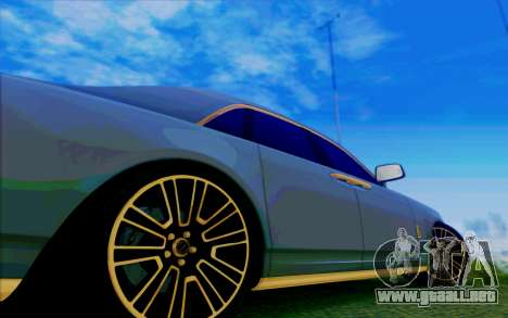 Rolls-Royce Ghost Mansory para vista inferior GTA San Andreas