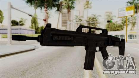 M4 from RE6 para GTA San Andreas