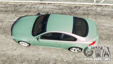 GTA 5 BMW M6 (E63) Tunable vista trasera