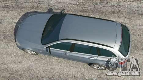 BMW 525d (F11) Touring 2015 (US) para GTA 5