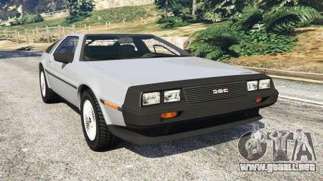 DeLorean DMC-12 para GTA 5