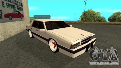 Willard Drift para GTA San Andreas left