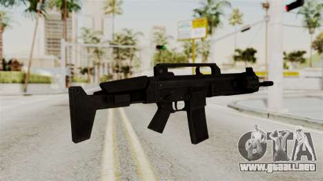 M4 from RE6 para GTA San Andreas segunda pantalla