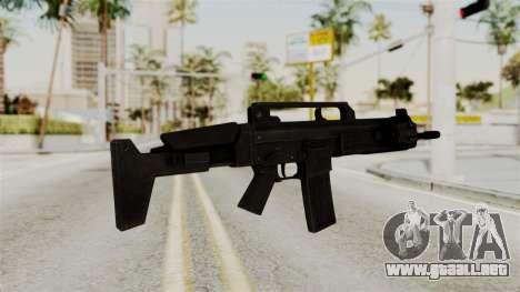 M4 from RE6 para GTA San Andreas segunda pantalla