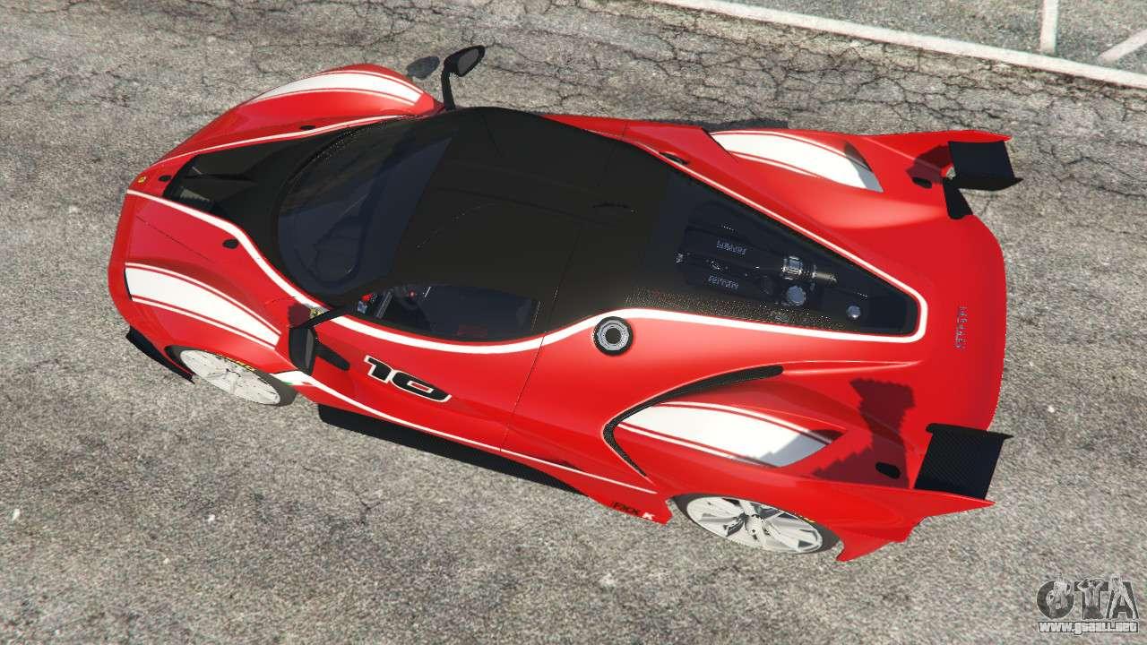 Ferrari Fxx K Para Gta