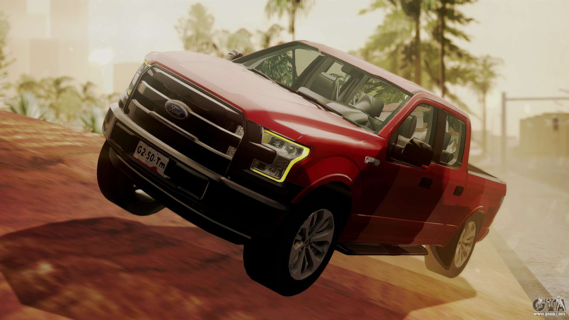 Ford f 150 2015 stock para gta san andreas for Stock car a couture 2015