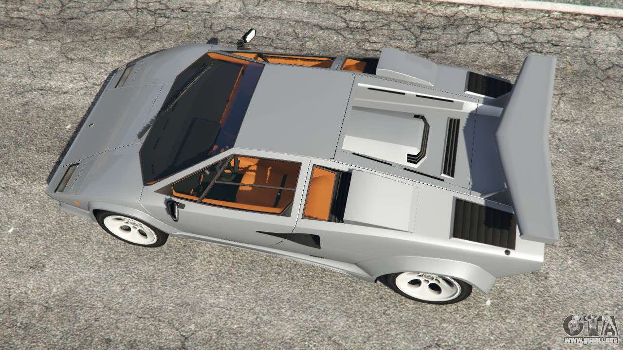 lamborghini countach lp500 qv 1988 v1 2 para gta 5. Black Bedroom Furniture Sets. Home Design Ideas