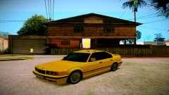 BMW 525tds E34 Russian Taxi para GTA San Andreas