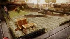 Skate Park with HDR Textures para GTA San Andreas