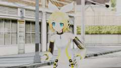Project Diva F 2nd - Kagamine Rin Append para GTA San Andreas