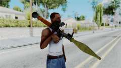 Rocket Launcher from RE6 para GTA San Andreas