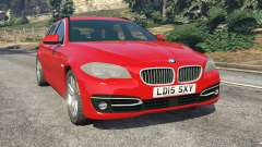 BMW 525d (F11) Touring 2015 (UK) para GTA 5