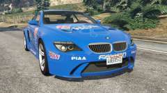 BMW M6 (E63) WideBody v0.1 [Pagid RS] para GTA 5