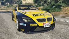 BMW M6 (E63) WideBody v0.1 [StopTech] para GTA 5