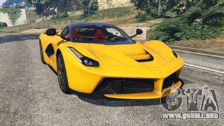 Ferrari LaFerrari 2015 para GTA 5
