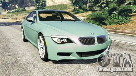 BMW M6 (E63) Tunable para GTA 5