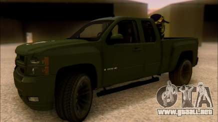 Chevrolet Silverado 2500 Best Edition para GTA San Andreas