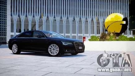 Audi A8L W12 2013 para GTA 4