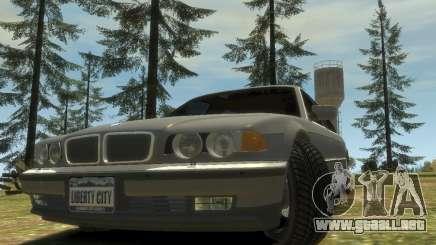 BMW L7 (750IL E38) 2001 para GTA 4