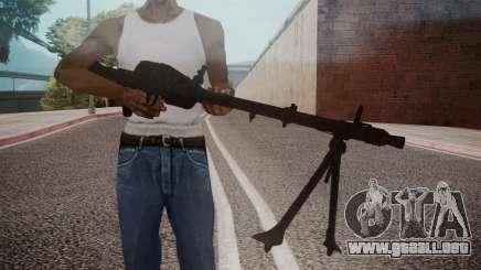 MG-34 Red Orchestra 2 Heroes of Stalingrad para GTA San Andreas