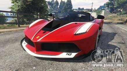 Ferrari FXX-K 2015 v1.1 para GTA 5
