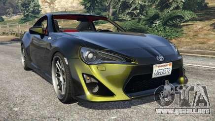 Toyota GT-86 v1.2 para GTA 5