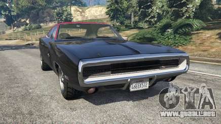 Dodge Charger RT 1970 v3.1 para GTA 5