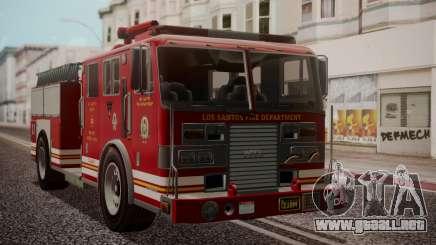 GTA 5 MTL Firetruck IVF para GTA San Andreas