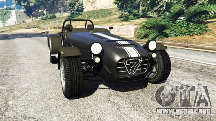 Caterham Super Seven 620R v1.5 [black] para GTA 5