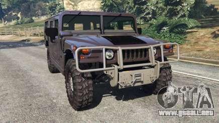 Hummer H1 v2.0 para GTA 5