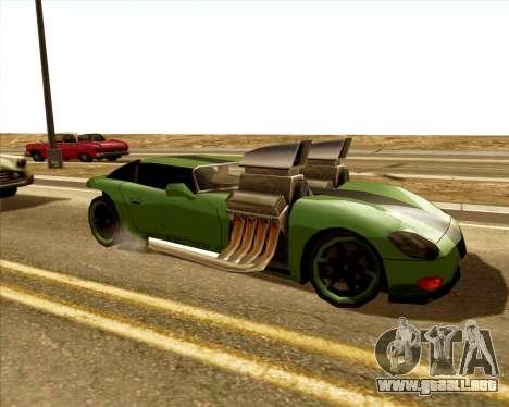 Banshee Twin Mill III Hot Wheels para GTA San Andreas left