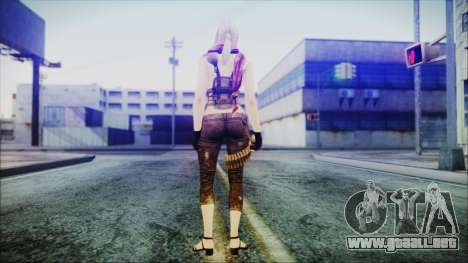 Mila from Counter Strike para GTA San Andreas tercera pantalla