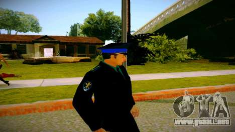 El empleado del Ministerio de Justicia v3 para GTA San Andreas tercera pantalla