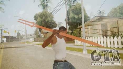 Spear of Longinus para GTA San Andreas tercera pantalla