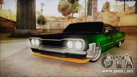 Savanna Ganstar Lowrider para GTA San Andreas
