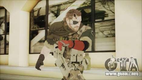 MGSV Phantom Pain Snake Scarf Wetwork para GTA San Andreas