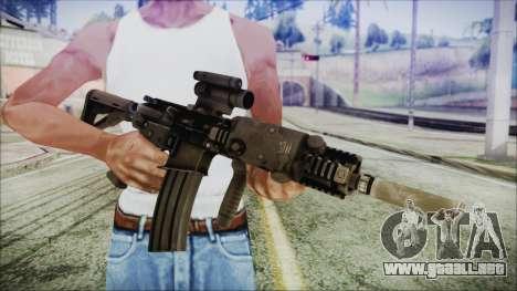 MK18 SEAL para GTA San Andreas tercera pantalla