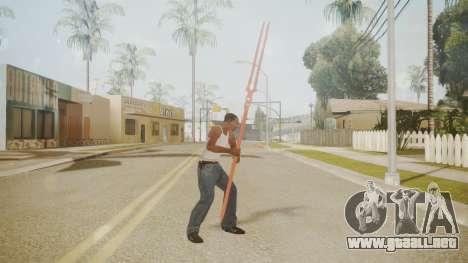 Spear of Longinus para GTA San Andreas segunda pantalla