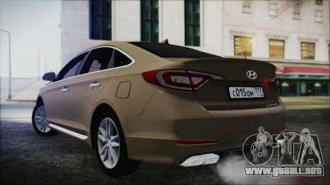 Hyundai Sonata 2015 para GTA San Andreas left