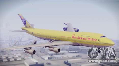 Boeing 747-200 GTA SA Airline para GTA San Andreas