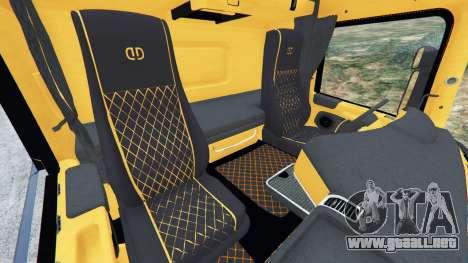 GTA 5 Scania R730 vista lateral derecha