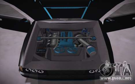 Elegy DRIFT KING GT-1 (Stok wheels) para GTA San Andreas vista hacia atrás